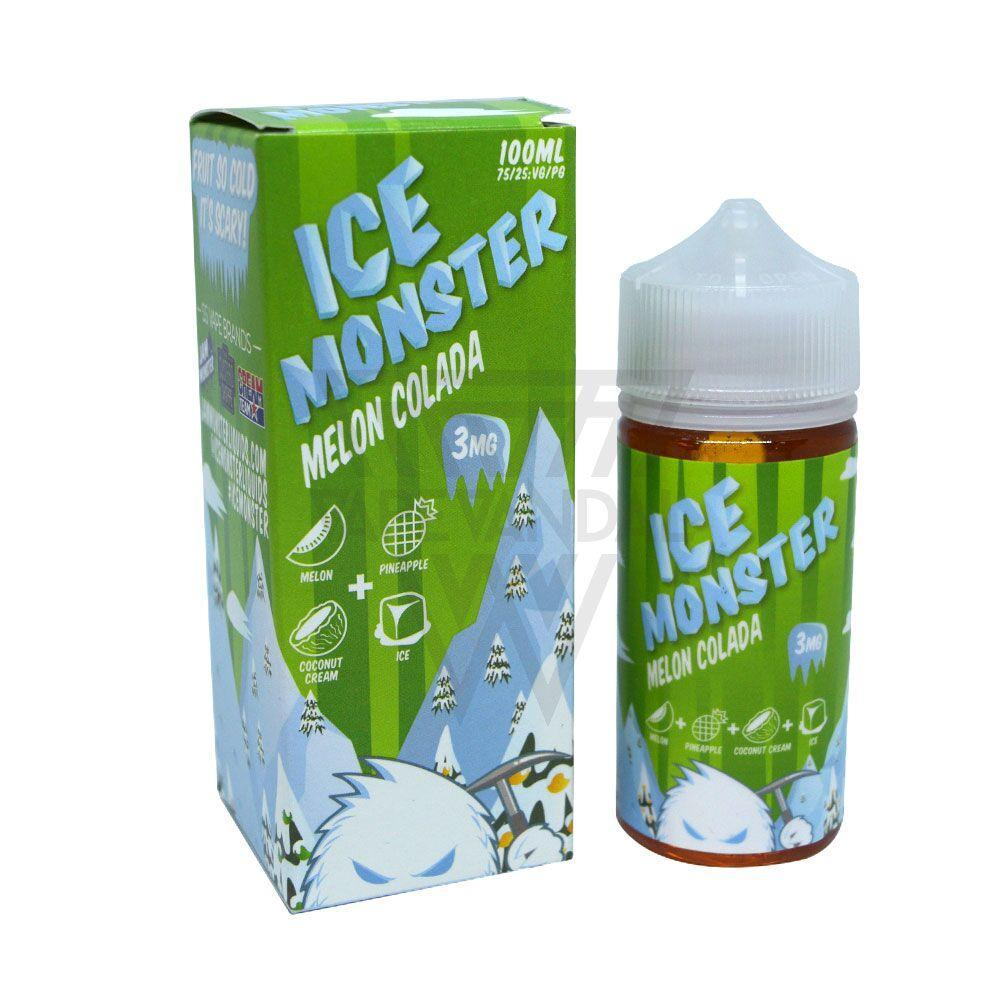 Ice Monster Imported E-Juice (US) 3mg Ice Monster - Melon Colada