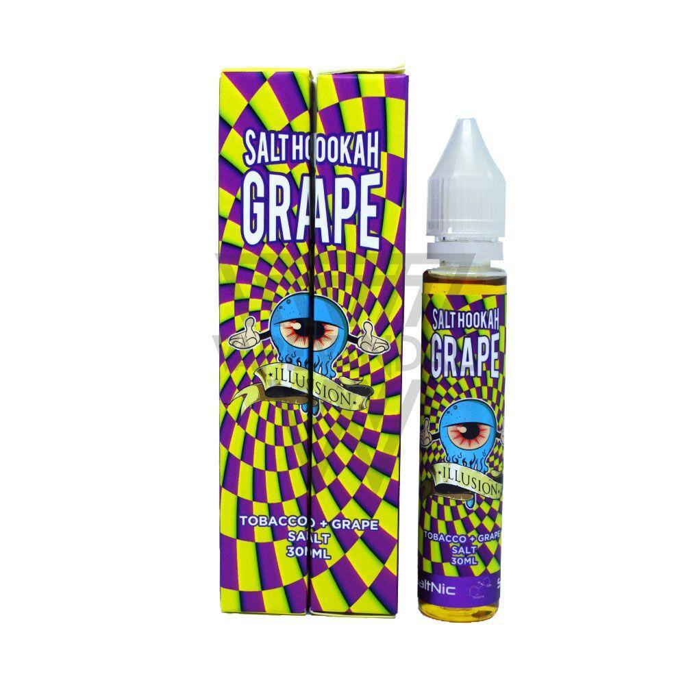 Illusion - Salt Hookah Grape Salt Nicotine - Vape Vandal - Malaysia's #1 vape e-juice store