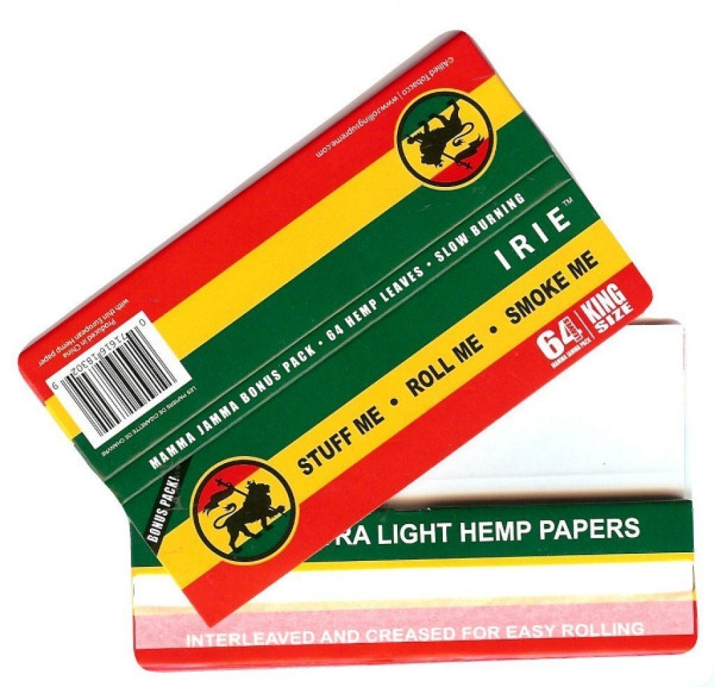 Irie MJ Accessories 1 Booklet Irie - Extra Light King Size Paper