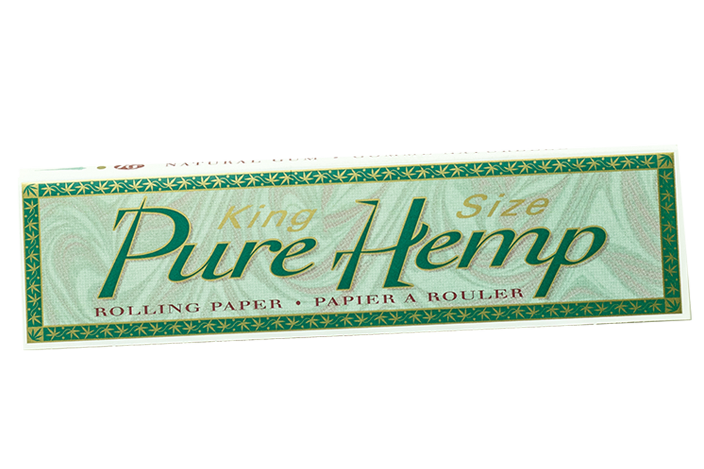 Irie MJ Accessories 1 Booklet Pure Hemp - King Size Paper