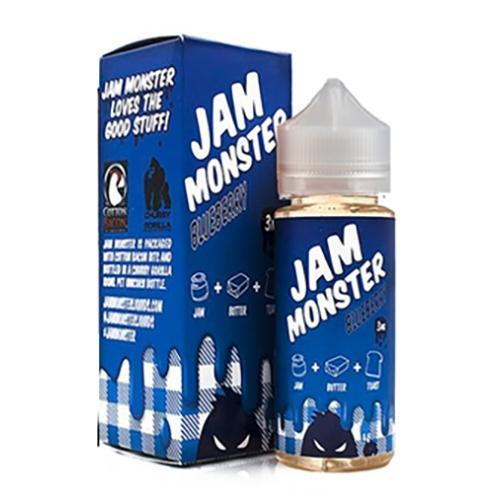 Jam Monster Imported E-Juice (US) 3mg Jam Monster - Blueberry