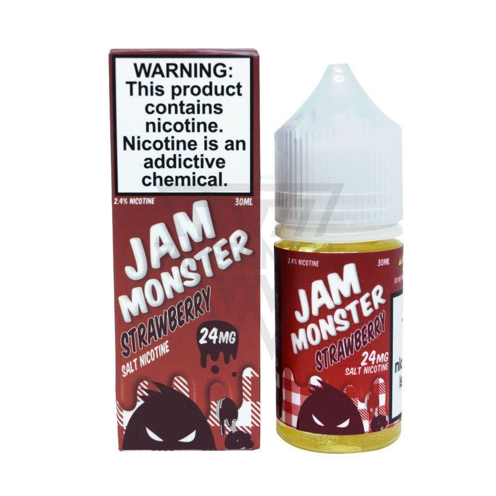 Jam Monster - Strawberry Salt Nicotine - Vape Vandal - Malaysia's #1 vape e-juice store