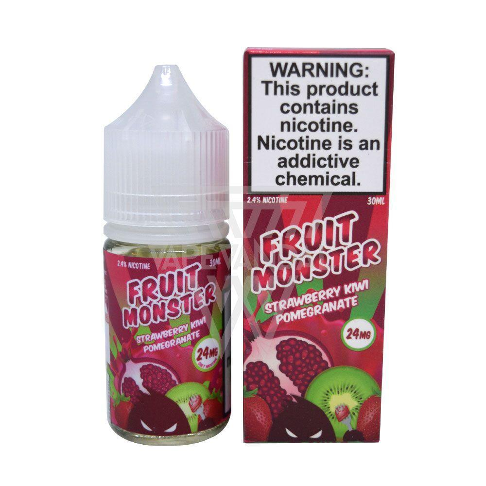 Jam Monster Imported Salt Nicotine E-Juice (US) Fruit Monster - Strawberry Kiwi Pomegranate Salt Nicotine