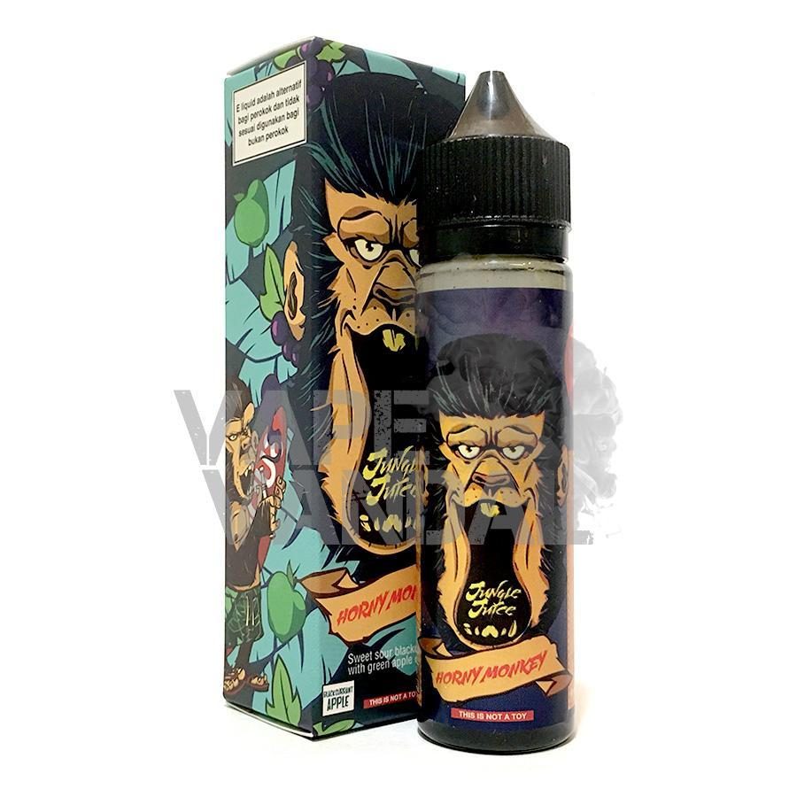 Jungle Juice - Horny Monkey (blackcurrant apple) - Vape Vandal - Malaysia's #1 vape e-juice store