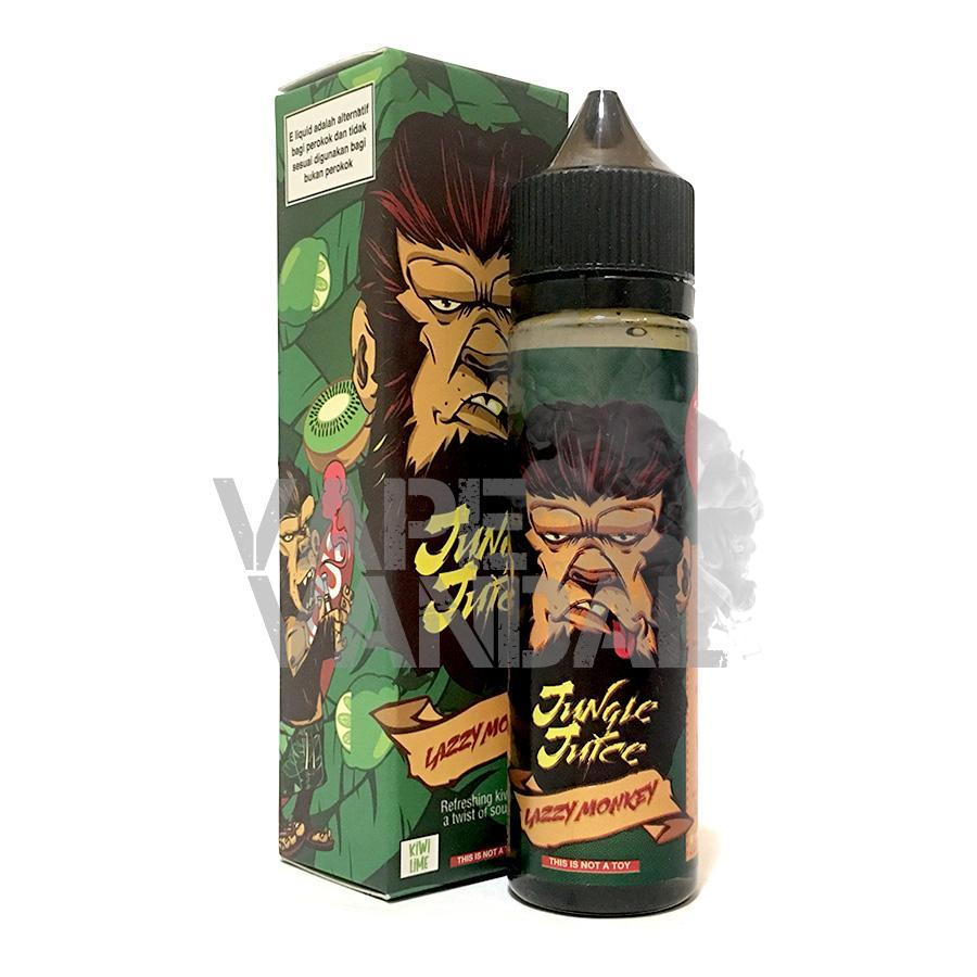 Jungle Juice - Lazzy Monkey (kiwi lime) - Vape Vandal - Malaysia's #1 vape e-juice store