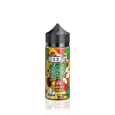 Keep It 100 Imported E-Juice (US) 6mg Keep it 100 (US) - Peachy Punch