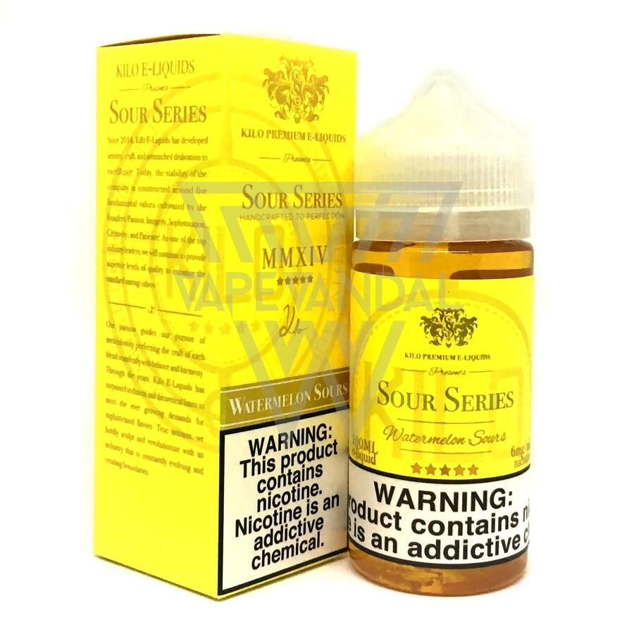 Kilo Imported E-Juice (US) 6mg Kilo - Watermelon Sours (Sour Series)