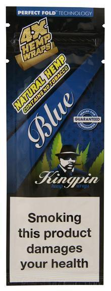 Kingpin MJ Accessories Blue Kingpin - Blunt Hemp Wrap