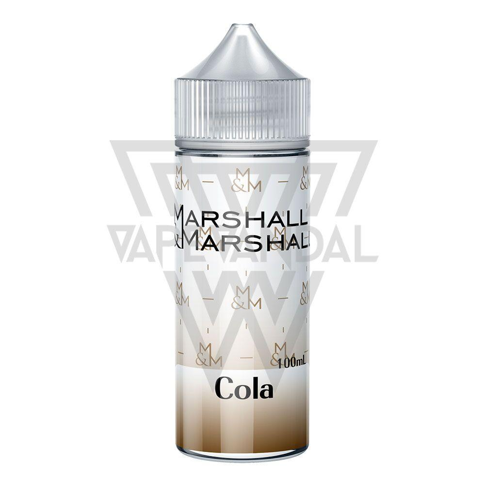 Marshall & Marshall Local E-Juice Marshall & Marshall - Cola