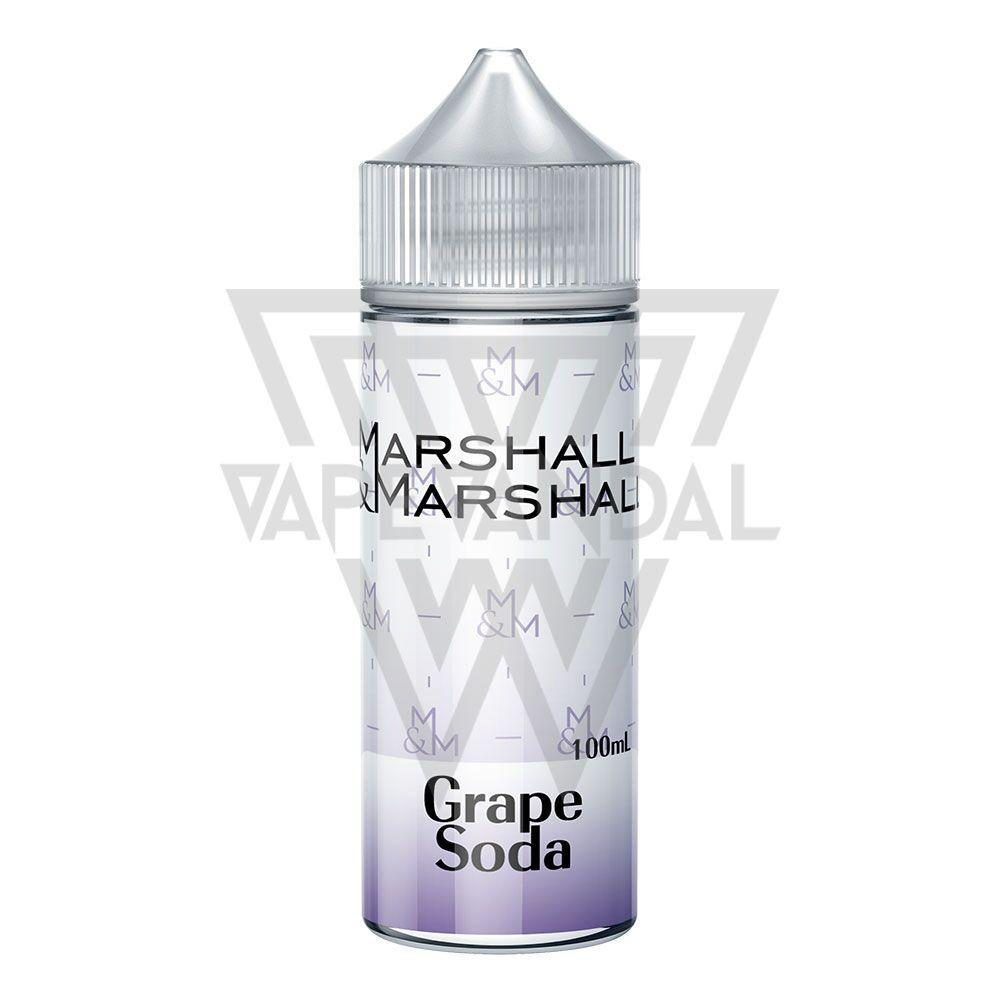 Marshall & Marshall - Grape Soda 100ml - Vape Vandal - Malaysia's #1 vape e-juice store