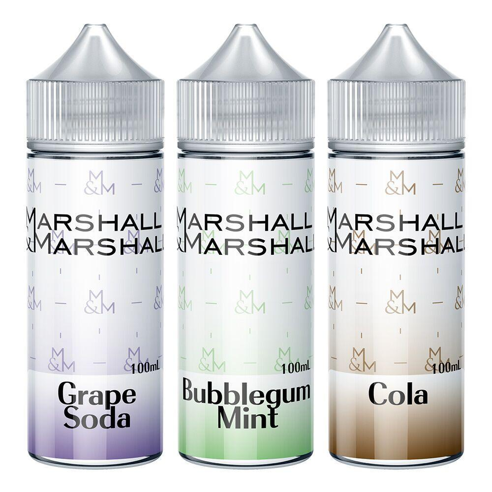 Marshall & Marshall Local E-Juice Marshall & Marshall - Sampler Bundle 100ml