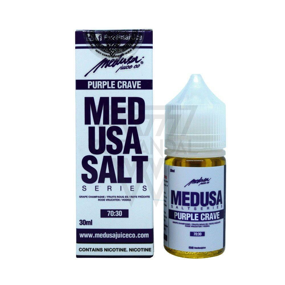 Medusa Local Salt Nicotine E-Juice 30mg Medusa - Purple Crave Salt Nicotine