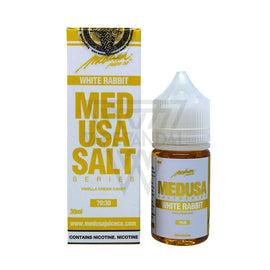 Medusa Local Salt Nicotine E-Juice 30mg Medusa - White Rabbit Salt Nicotine