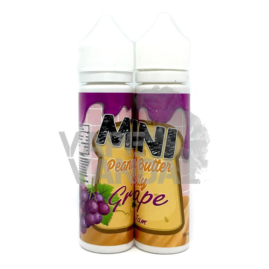 Mini Clearance 3mg / 30ml Mini - Peanut Butter Jelly Grape Jam