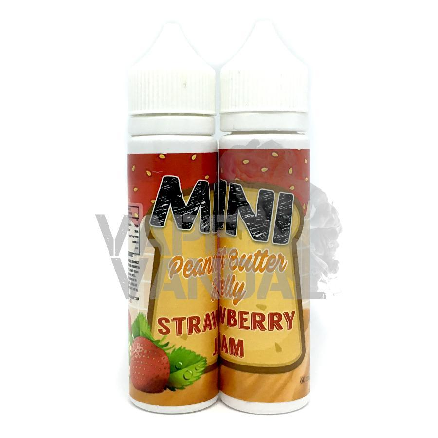 Mini Clearance 3mg / 30ml Mini - Peanut Butter Jelly Strawbery Jam
