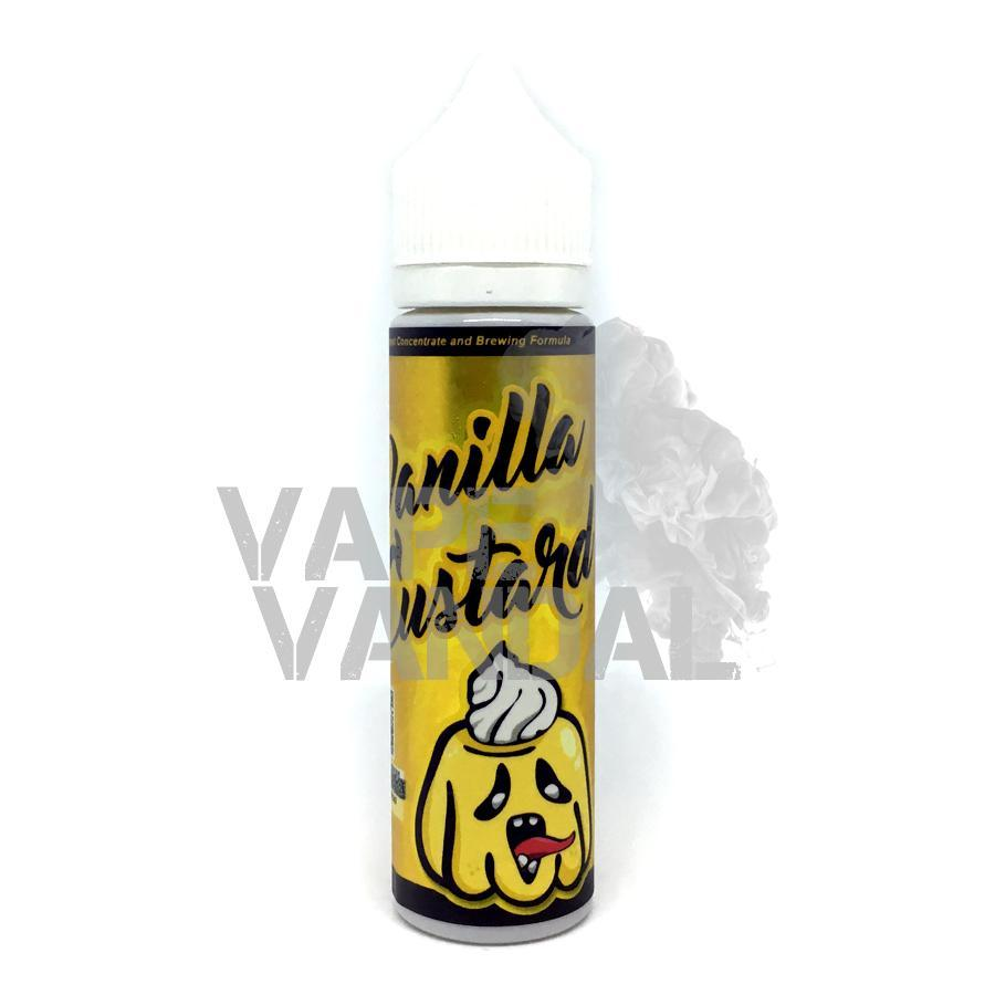 Monsta Vape Local E-Juice 6mg Monsta Vape - Vanilla Custard (Creamy)