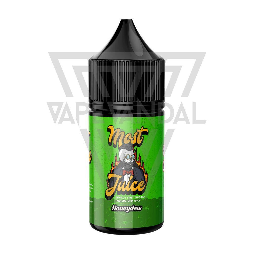 Most Juice Local Salt Nicotine E-Juice Most Juice - Honeydew Salt Nicotine