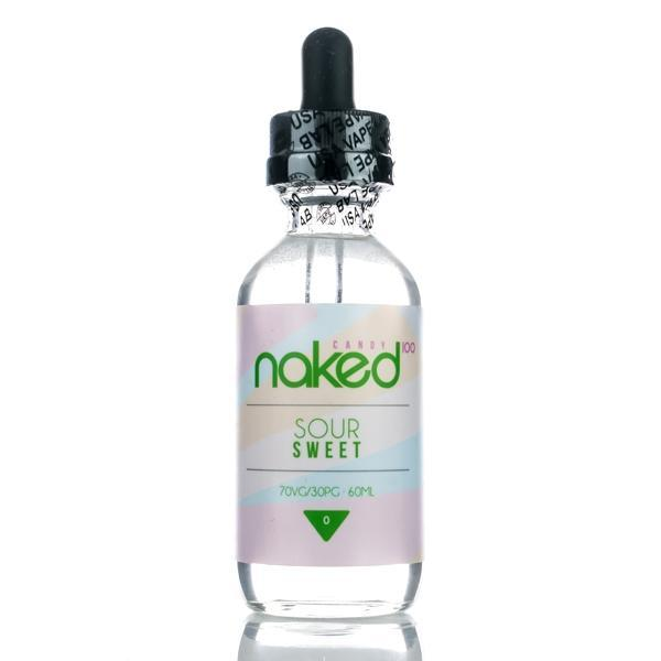 Naked 100 Imported E-Juice (US) 6mg Naked 100 Candy (US) - Sour Sweet