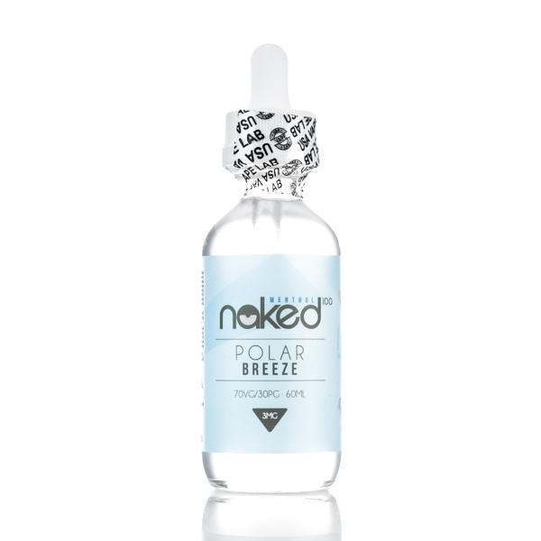 Naked 100 Imported E-Juice (US) 6mg Naked 100 Menthol (US) - Polar Breeze