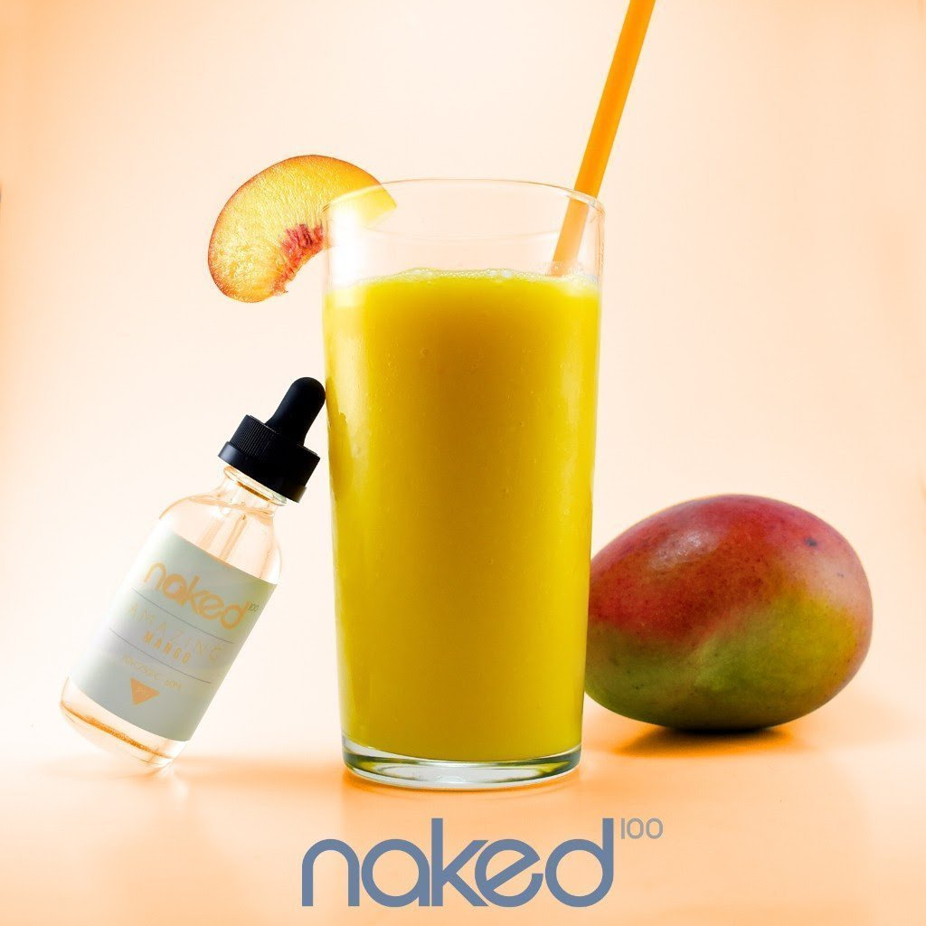 Naked 100 Imported E-Juice (US) 6mg Naked 100 (US) - Amazing Mango