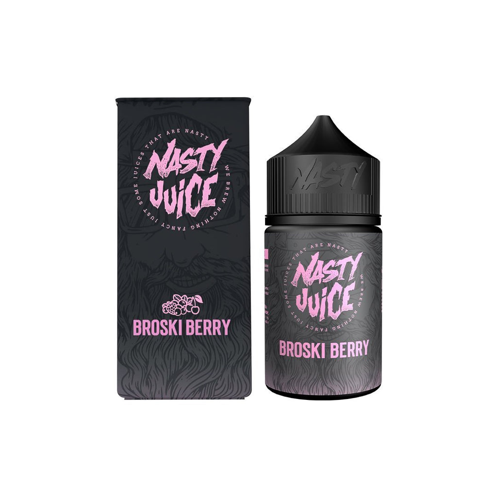Nasty Juice Local E-Juice 3mg Nasty Juice - Broski Berry (Berry Series)