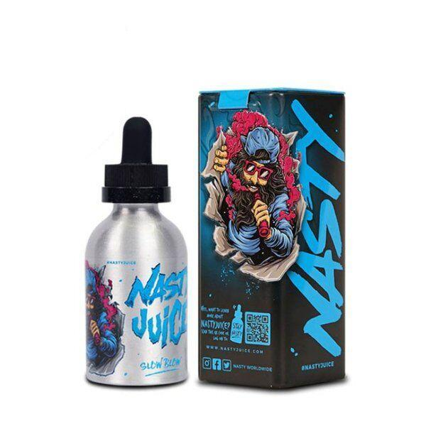 Nasty Juice Local E-Juice 6mg Nasty Juice - Slow Blow (Blue) (Double Fruity Series) Pineapple Lemonade