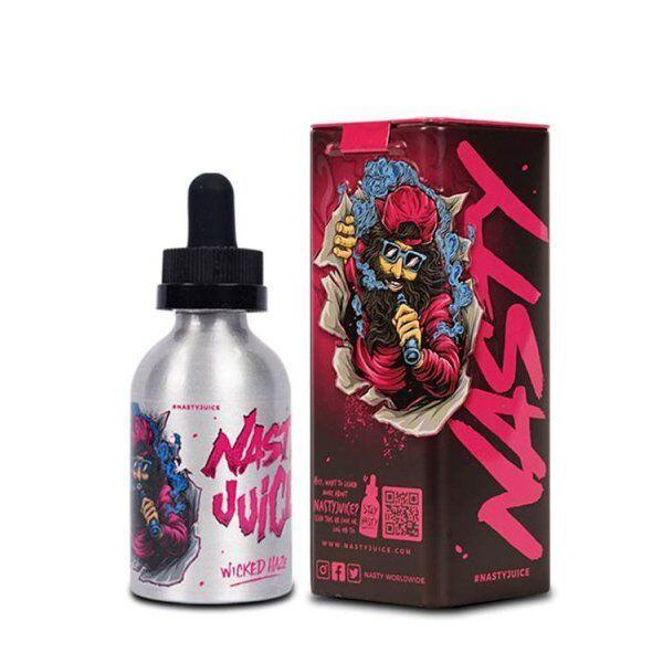 Nasty Juice Local E-Juice 6mg Nasty Juice - Wicked Haze (Pink) (Double Fruity Series) Blackcurrant with Lemonade Soda