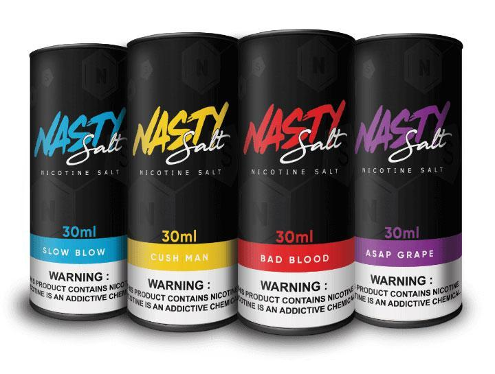 Nasty Juice Local Salt Nicotine E-Juice 35mg Nasty Juice - Salt Nicotine Sampler Bundle