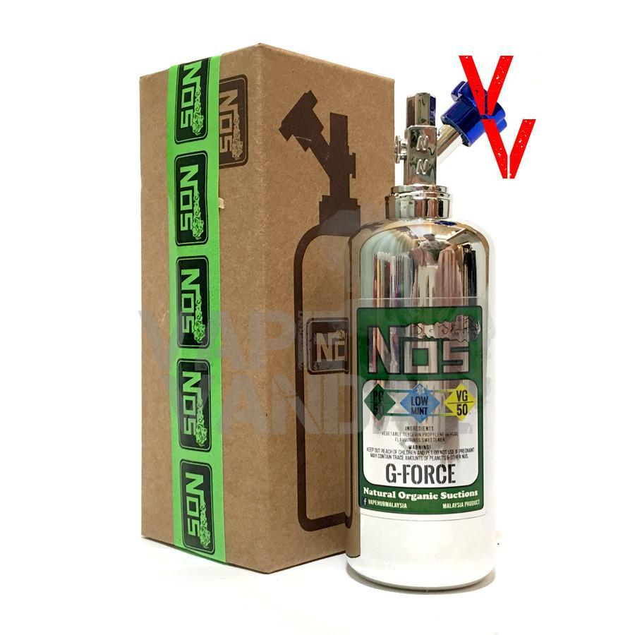NOS Local E-Juice 3mg NOS - G-Force (Green)