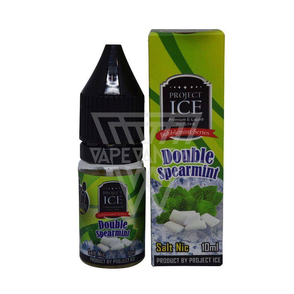 Project ICE - Double Spearmint Salt Nicotine - Vape Vandal - Malaysia's #1 vape e-juice store