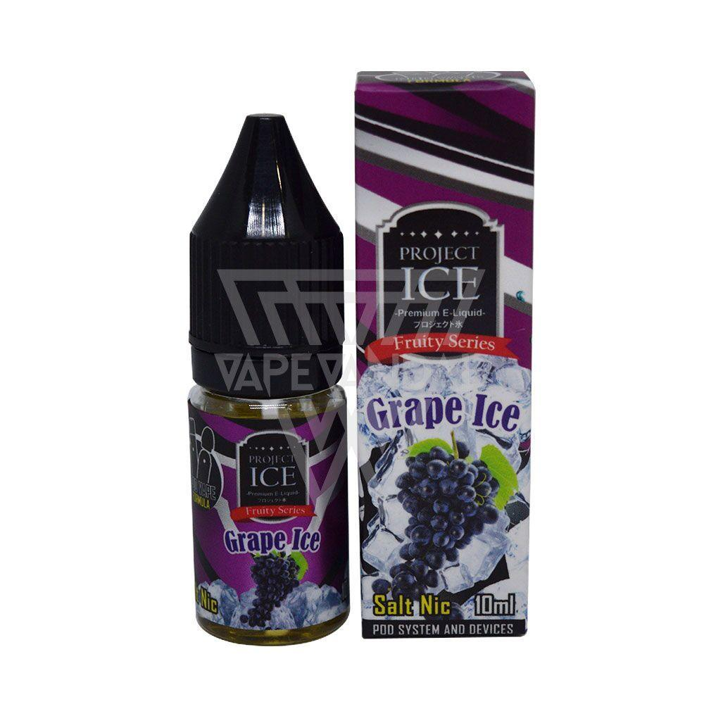Project ICE - Grape Ice Salt Nicotine - Vape Vandal - Malaysia's #1 vape e-juice store
