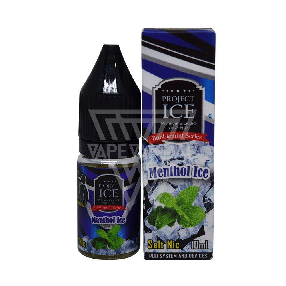 Project ICE Local Salt Nicotine E-Juice Project ICE - Menthol Ice Salt Nicotine