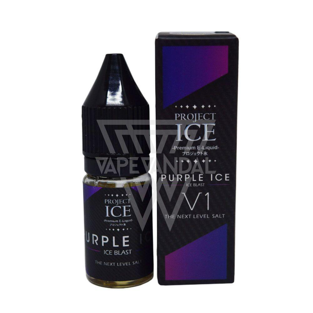 Project ICE Local Salt Nicotine E-Juice Project ICE - Purple Ice Salt Nicotine