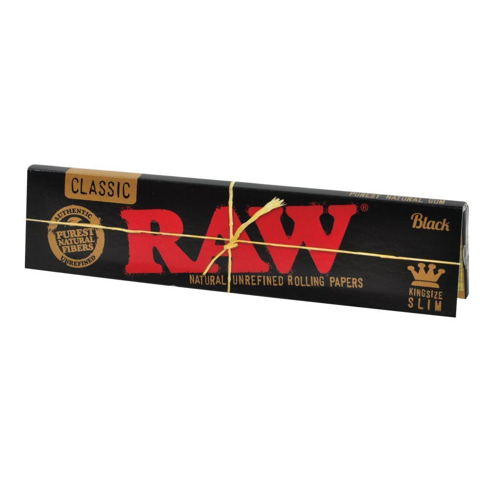 RAW MJ Accessories 1 Booklet RAW - Black King Size Slim