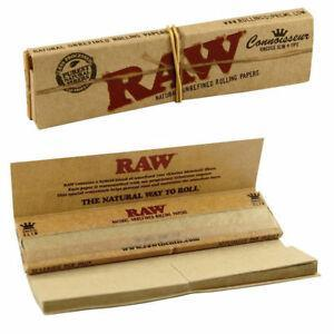 RAW MJ Accessories 1 Booklet RAW - Classic Connoisseur Paper with Tips