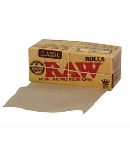 RAW MJ Accessories 1 Booklet RAW - Classic King Size Rolls 3M
