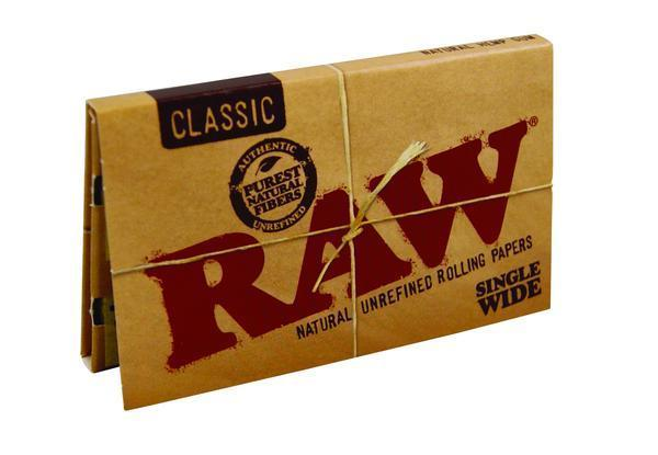 RAW MJ Accessories 1 Booklet RAW - Classic Single Wide Double Pack Paper