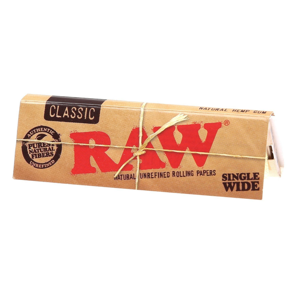 RAW MJ Accessories 1 Booklet RAW - Classic Single Wide Paper