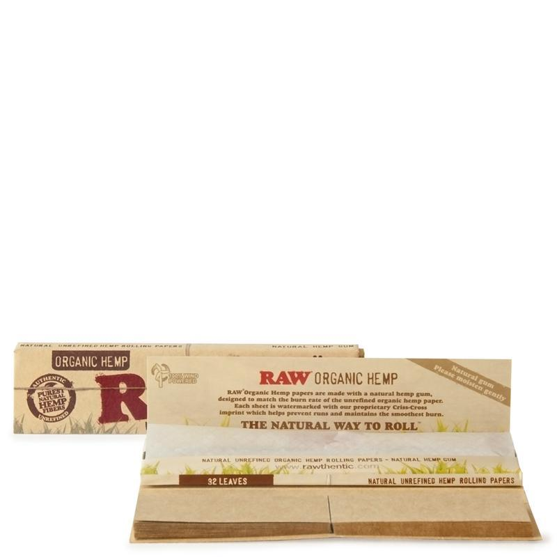 RAW MJ Accessories 1 Booklet RAW - Organic Connoisseur Paper with Tips