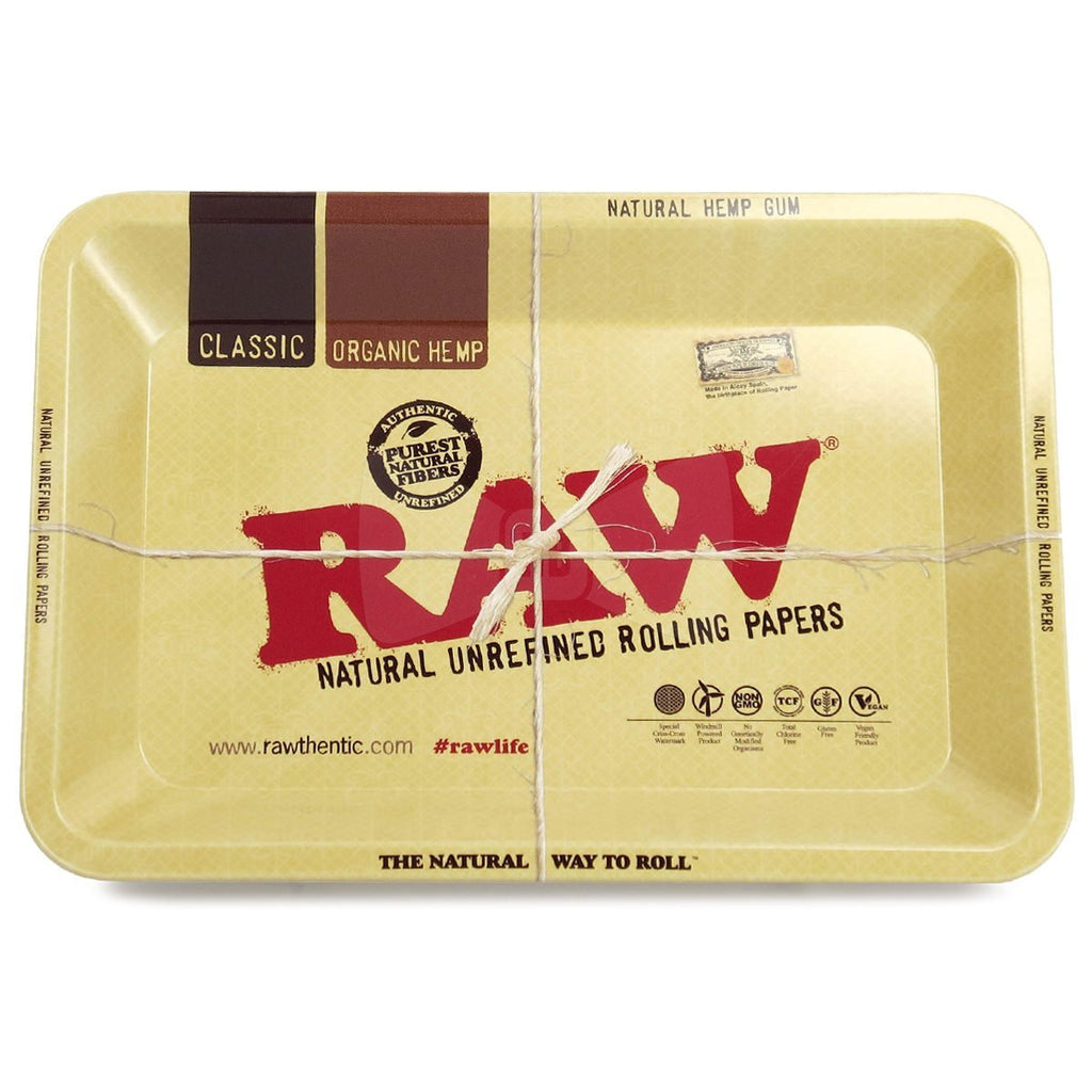 RAW MJ Accessories Mini Tray RAW - Metal Tray