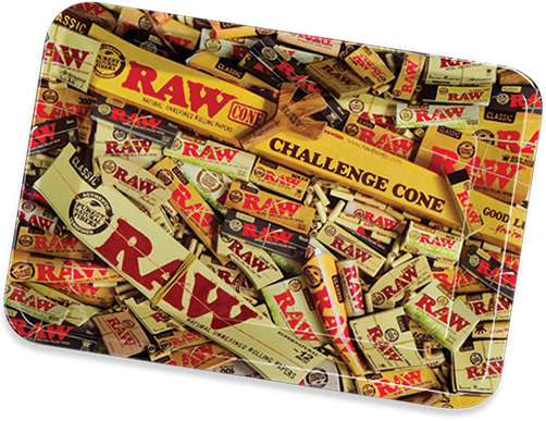 RAW Smoking accessories RAW - Metal Tray Mix Design