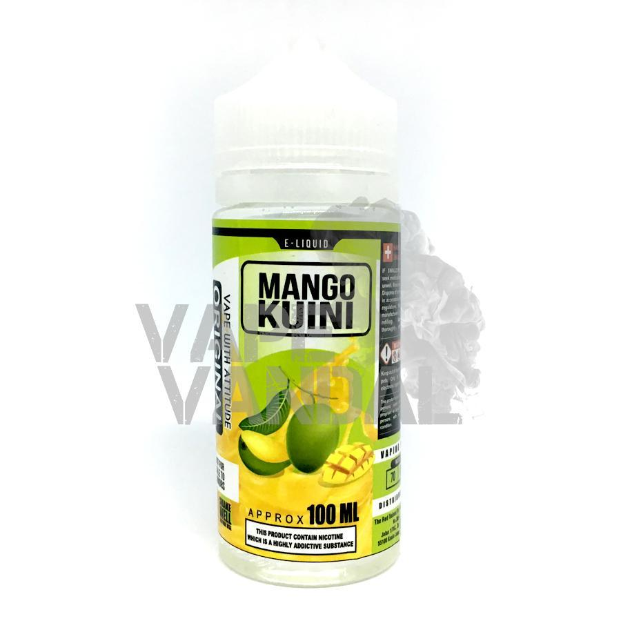 Red Velvet, The Local E-Juice Red Velved, The - Mango Kuini 100ml
