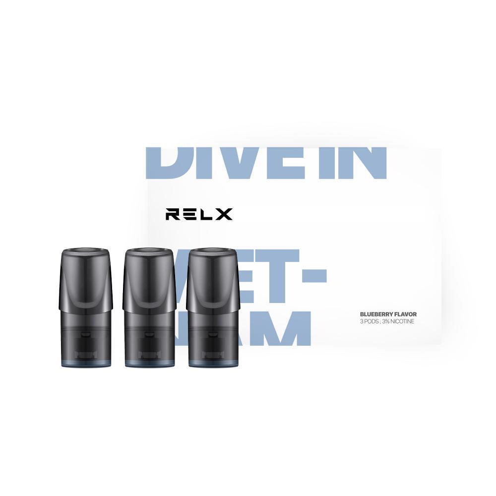 RELX - Dive in Vietnam (Blueberry) RELX Cartridge - Vape Vandal - Malaysia's #1 vape e-juice store