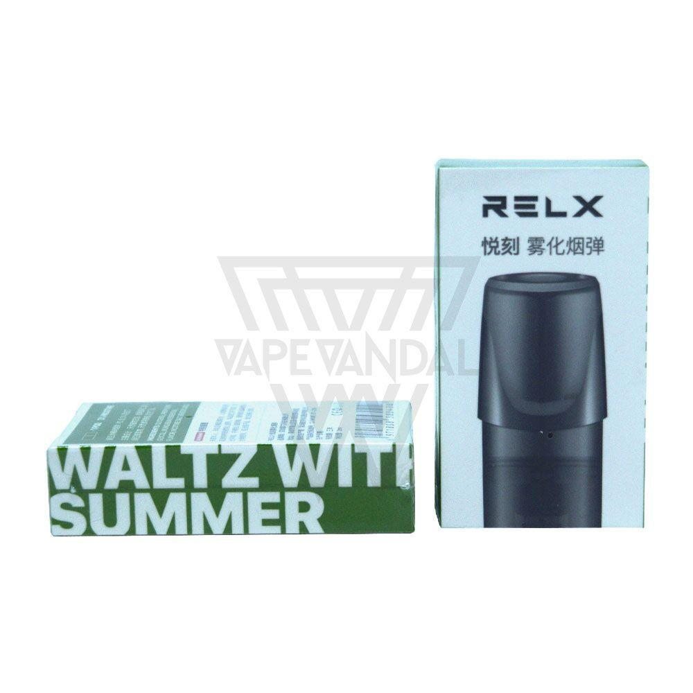 RELX Cartridge Waltz With Summer RELX - Single Flavours POD Cartridge