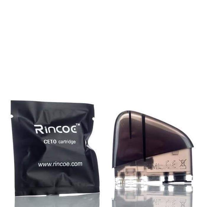 Rincoe - Ceto Replacement Cartridge - Vape Vandal - Malaysia's #1 vape e-juice store