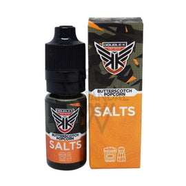 Secret Juice Local Salt Nicotine E-Juice 35mg Double K - Butterscotch Popcorn Salt Nicotine