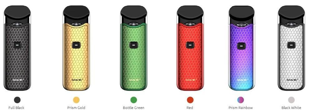 Smok Pod 7 color Smok - Nord Pod Kit (FREE SHIPPING)