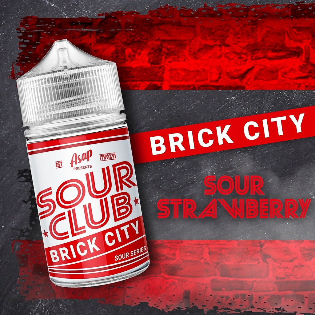 Sour Club - Brick City by ASAP Juice - Vape Vandal - Malaysia's #1 vape e-juice store