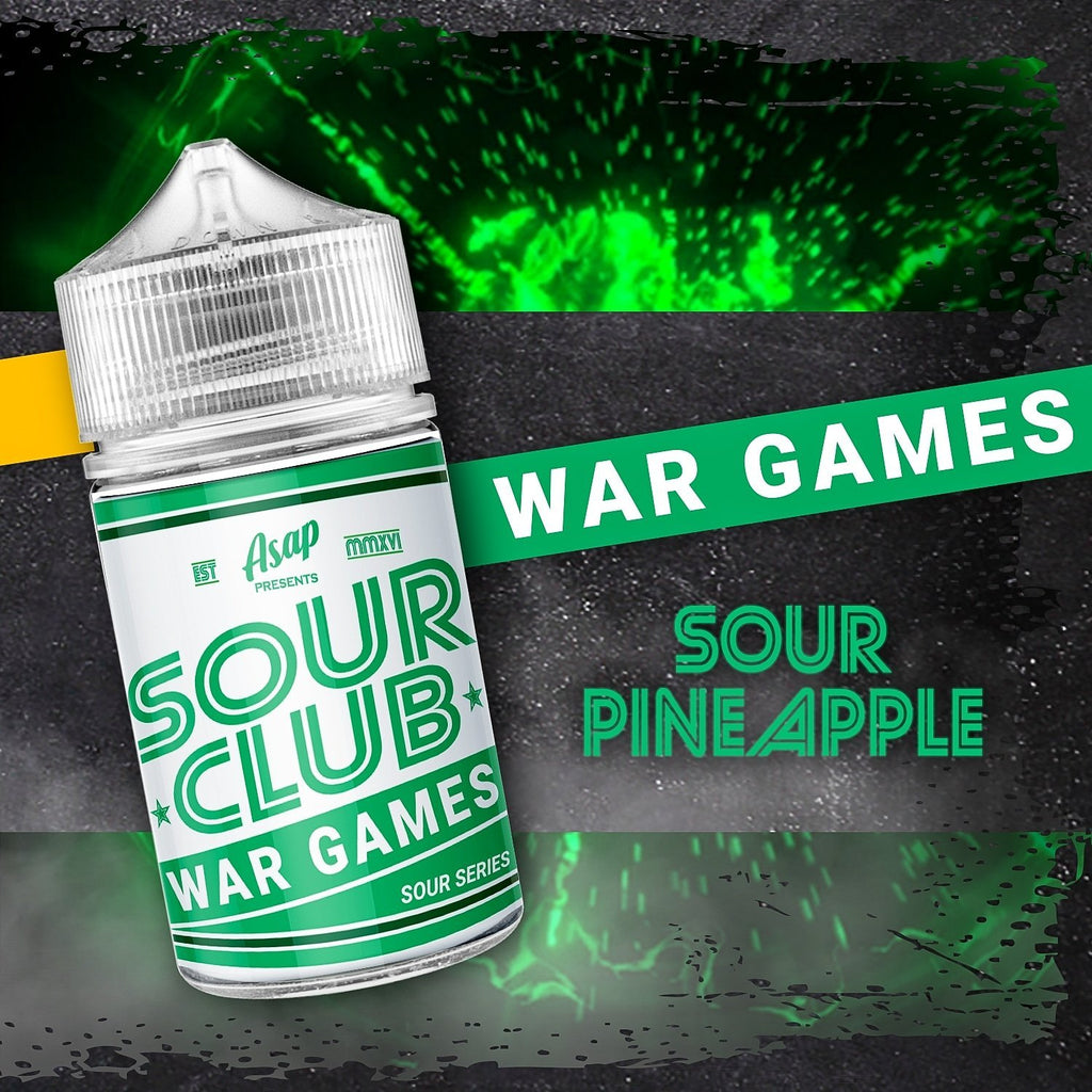 Sour Club - War Games by ASAP Juice - Vape Vandal - Malaysia's #1 vape e-juice store