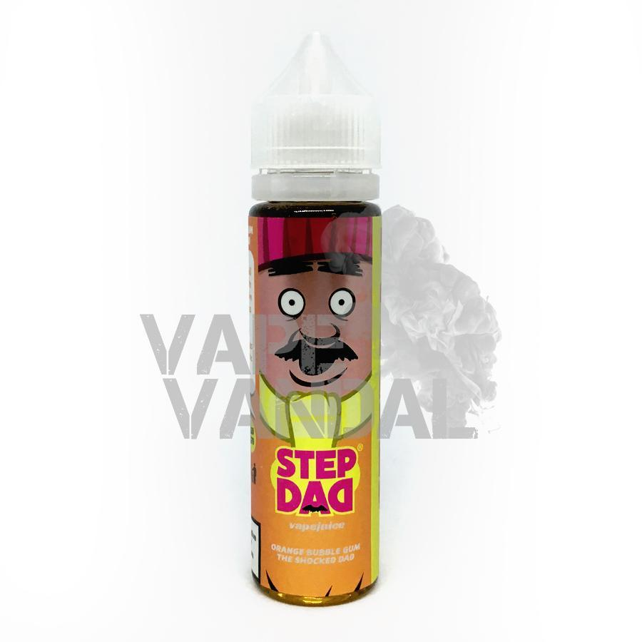 Step Dad - The Shocked Dad (Orange Bubblegum) - Vape Vandal - Malaysia's #1 vape e-juice store